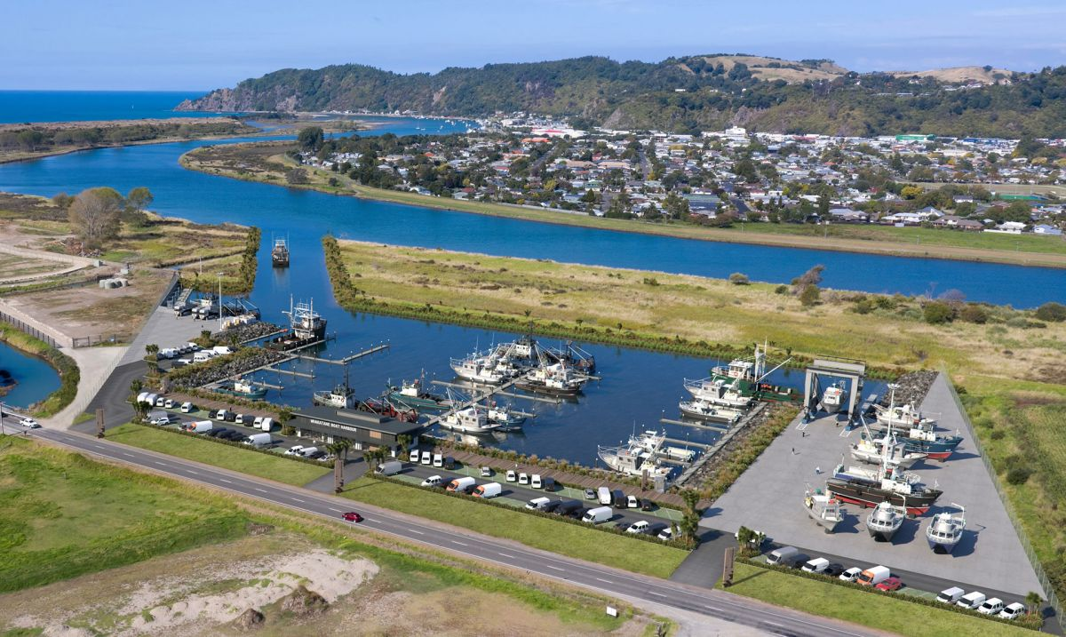 Whakatāne Boat Harbour - Artist's impression